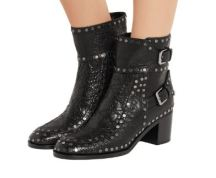 Gatsby Studded Leather Ankle Boot