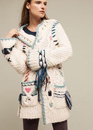 Lima Handknit Cardigan